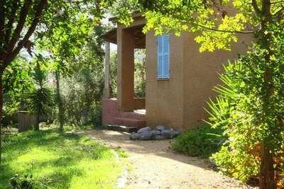 Belle maison de vacances à Poggio-Mezzana, 150 m de la plage
