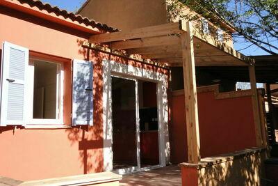 Maison de vacances à Poggio-Mezzana, à 150 m de la plage
