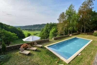 Demeure confortable terrasse privée, Saint-Germain-de-Belvès