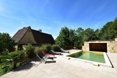 Luxueuse maison de vacances à Domme avec piscine