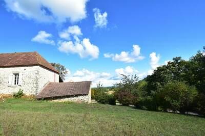 Maison de vacances à Campagnac-lès-Quercy sur une colline
