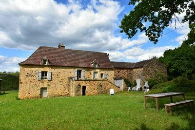 Maison de vacances à Villefranche-du-Périgord avec jardin