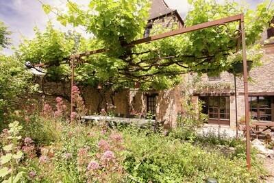 Demeure vintage en Aquitaine avec jardin privatif