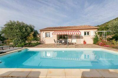 Maison dans le sud de la France avec piscine privée et clim