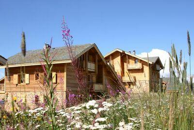 Les Chalets de l'Altiport 5, Location Chalet à Alpe D'huez - Photo 2 / 25