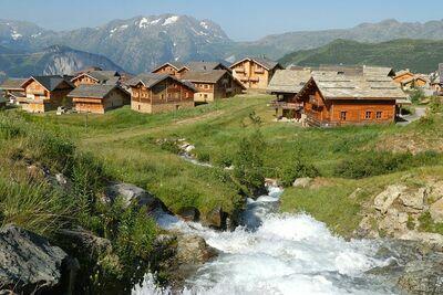 Les Chalets de l'Altiport 5, Location Chalet à Alpe D'huez - Photo 6 / 25