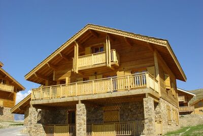 Les Chalets de l'Altiport 4, Location Chalet à Alpe D'huez - Photo 9 / 25