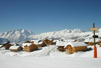 Les Chalets de l'Altiport 4, Location Chalet à Alpe D'huez - Photo 24 / 25