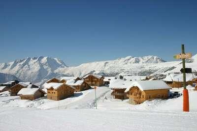 Les Chalets de l'Altiport 3, Location Chalet à Alpe D'huez - Photo 23 / 25