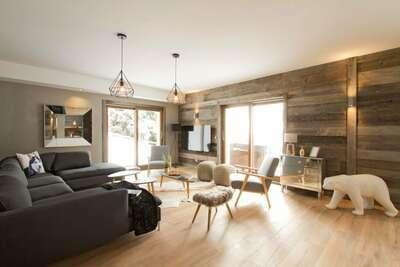 Appartement de luxe avec jacuzzi au cœur du village d'Huez