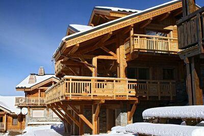 Magnifique chalet indépendant avec cheminée aux Deux Alpes