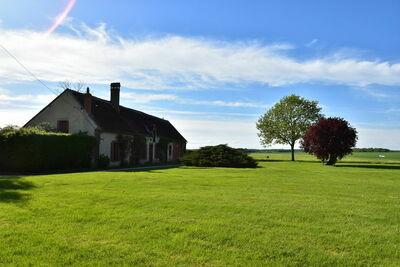 Grande maison de vacances avec jardin privé à la ferme