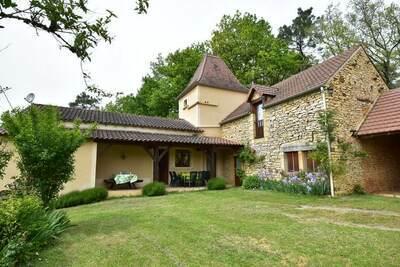 Maison de vacances à Cazals en France avec jardin privé