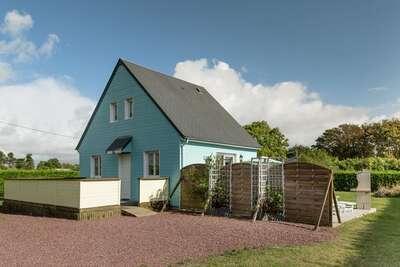 Jolie maison de vacances, jardin, proche mer, en Normandie