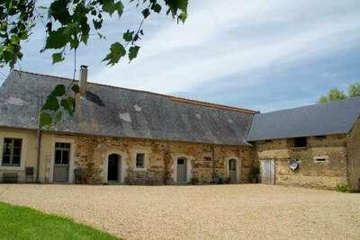 Maison de vacances à Saint-Laurent-des-Mortiers avec jardin