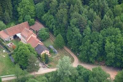 Grande maison de vacances avec jardin à Hanviller proche lac