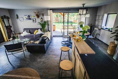 Chalet confortable avec jardin privé situé à Saint-Quirin