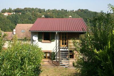 Maison de vacances isolée avec terrasse à Harreberg