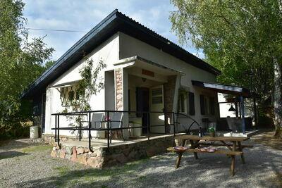 Maison de vacances avec terrasse à Saint-Honoré-les-Bains