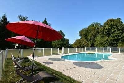 Superbe demeure en Bourgogne avec piscine privée