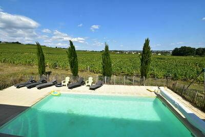 Longère traditionnelle avec piscine à Vinzelles