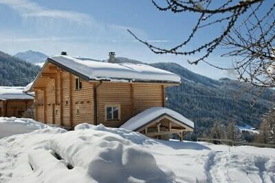 Chalet de luxe dans le très vaste domaine skiable Paradiski