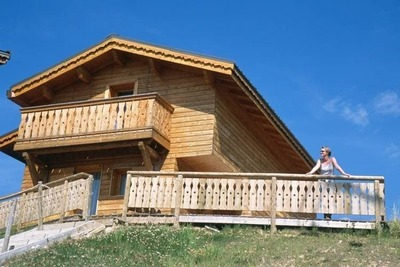 Chalet serein à Plagne 1800 avec terrasse