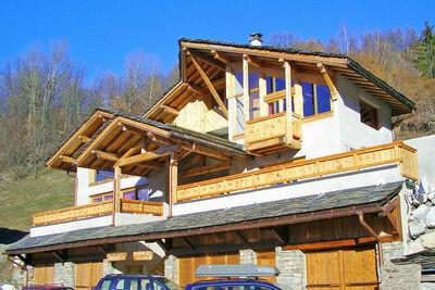 Chalet confortable à Peisey-Nancroix avec balcon