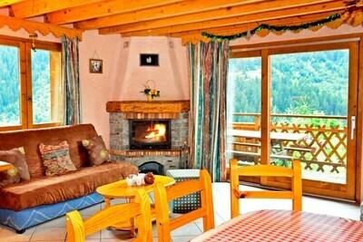 Appartement à Champagny-en-Vanoise, domaine skiable Paradiski