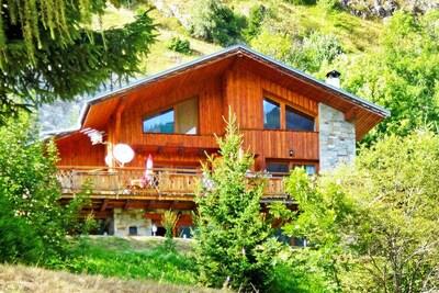Chalet exclusif à Champagny-en-Vanoise près domaine skiable
