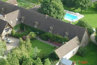 Maison de vacances moderne à Quend-Plage-les-Pins, terrasse