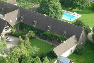 Maison de vacances à Quend-Plage-les-Pins avec piscine