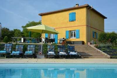 Villa de luxe à Piquecos avec piscine privée
