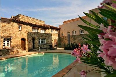 Maison de vacances patrimoniale au Plan-de-la-Tour, piscine