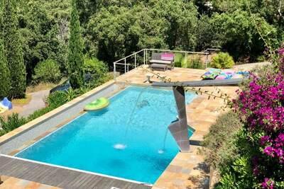 Villa de luxe près de La Croix-Valmer avec vue sur mer