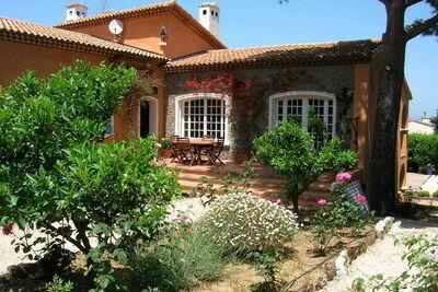 Villa de charme à Saint-Tropez, France, avec piscine privée