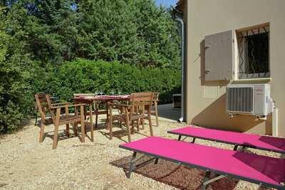 Villa de luxe avec jacuzzi à Carpentras en Provence