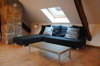 Maison de vacances indépendante avec terrasse à Lotharingen