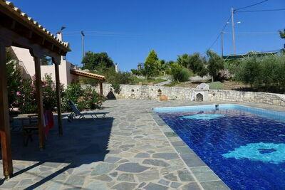 Villa de charme à Axos, Crète avec piscine