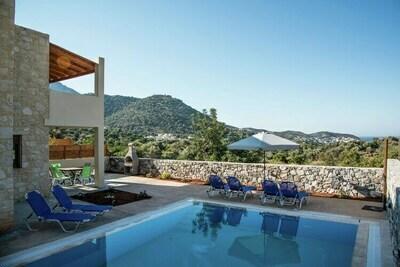 Villa attrayante à Bali Crète avec piscine privée