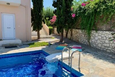 Villa in Loutra, Location Villa à Loutra - Photo 30 / 38
