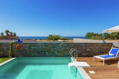 Villa luxueuse avec jacuzzi à Pigianos Kampos