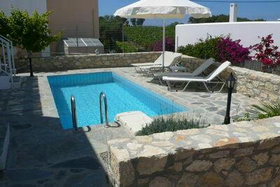Villa luxueuse avec piscine à Loutra en Grèce