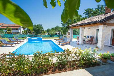 Villa douillette à Medvidici en Istrie, en Croatie