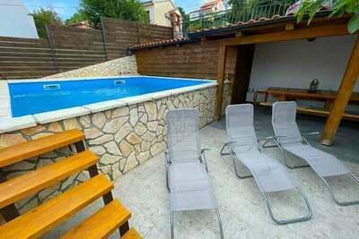 Magnifique maison de vacances à Dramalj près de la mer