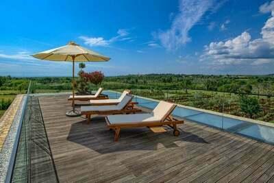Villa exquise à Baderna avec sauna et jacuzzi