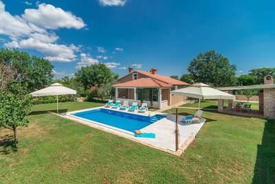 Villa de charme en Istrie, Croatie, avec piscine privée