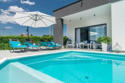Belle villa avec piscine privée en Istrie, Croatie