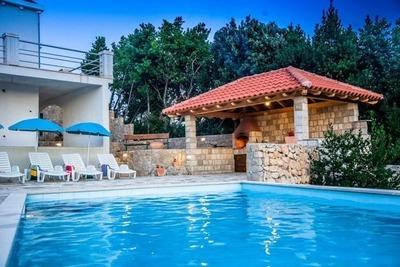 Maison de vacances à Mocici, Croatie avec piscine privée