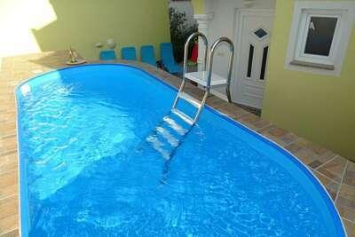 Grande maison de vacances avec piscine à Dramalj en Croatie